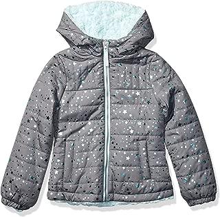 London Fog Girls' Midweight Fleece Lined Jacket