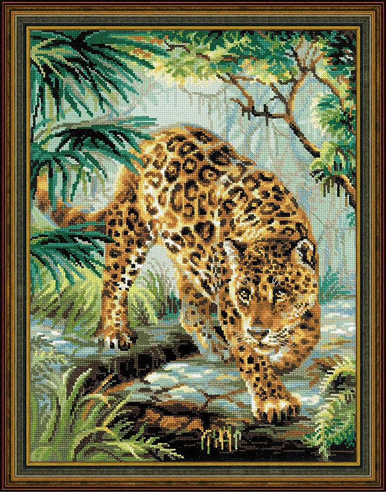 RIOLIS Owner of The Jungle Cross Stitch Kit-11.75