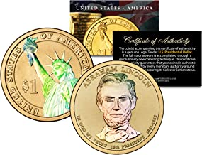 HOLOGRAM 2-sided 2010 ABRAHAM LINCOLN Presidential $1 Dollar U.S. President Coin