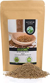 Comino entero, semillas de comino 100% natural, semillas de alcaravea natural sin aditivos, vegano (250 GR)