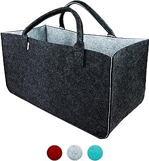 LoFelt® Filztasche - einsetzbar als Einkaufskorb, Shopper oder als Aufbewahrung für Geschenke - Tasche in XXL - Big Bag in...