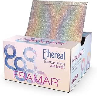 Framar Ethereal Pop Up Hair Foil, Aluminum Foil Sheets, Hair Foils For Highlighting - 500 Foil Sheets