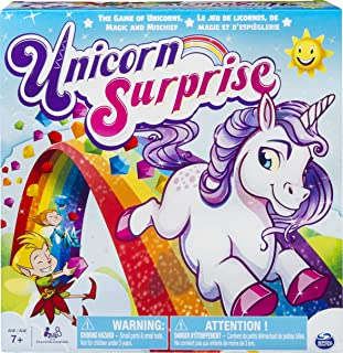 Spin Master Board Game with an Interactive Magical Unicorn