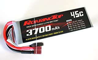 RoaringTop LiPo Battery Pack 45C 3700mAh 6S 22.2V with Deans Plug for RC Car Boat Truck Heli Airplane