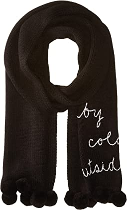 Kate Spade New York - Baby It's Cold Outside Muffler