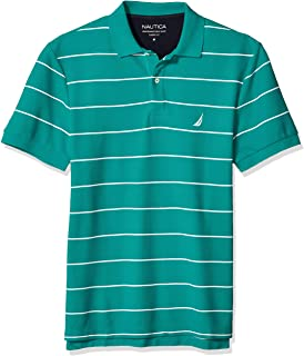 Men's Stripe Deck Anchor Polo