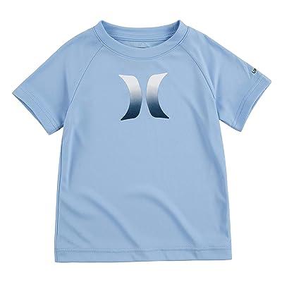 Hurley Kids Ombre Icon UPF Shirt (Big Kids) (Psychic Blue) Boy