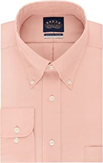 Eagle Men's Non Iron Stretch Collar Regular Fit Solid...