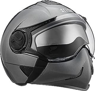 Studds Full Face Helmet Downtown (Gun Grey, L)