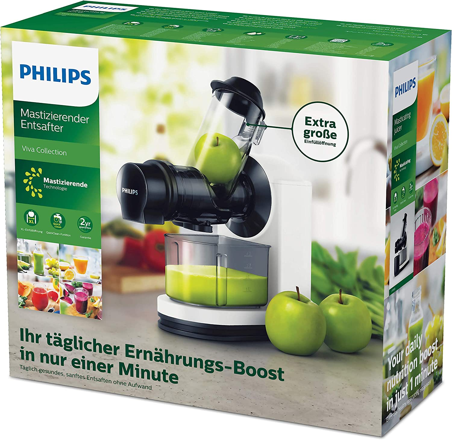 Philips HR1889/70 Extracteur de jus Bianco