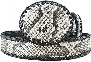 Genuine Python Snake Skin Handmade Cowboy Dress Belt 46