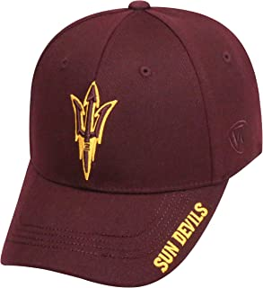 timeless design 6a0b2 adc1d Top of the World NCAA Mens Premium Collection One-fit Memory Fit Hat Team  Color