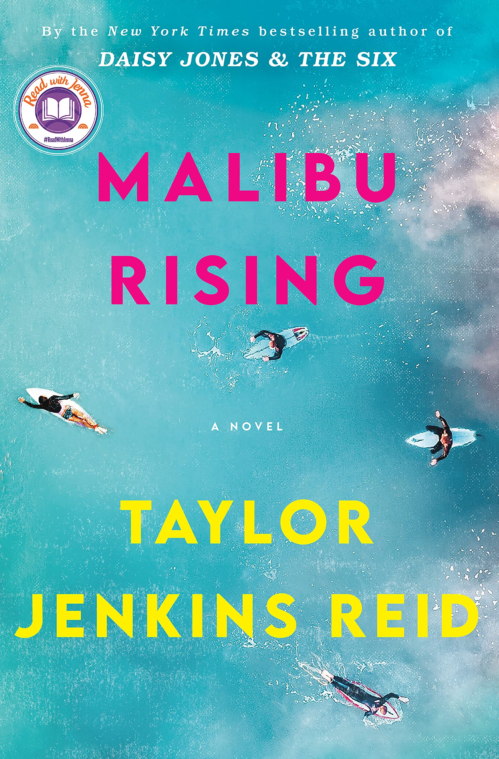 Cover image of Malibu Rising by Taylor Jenkins Reid