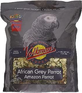 Volkman Avian Science Super African Grey and Amazon Bird Food