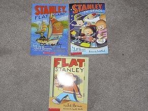 Flat Stanley 3 Book Set (Flat Stanley, Stanley in Space, Stanley Flat Again)