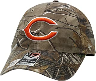 Chicago Bears Hat Buckle Back Realtree Clean Up Logo Block 12143