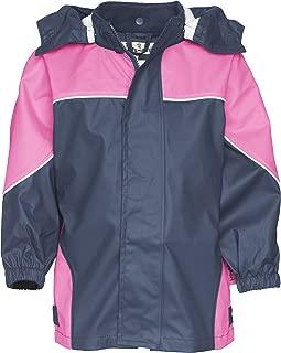 Playshoes Kids Waterproof Reflective Zippered Raincoat