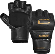 CORE SPORTS MMA Gloves for Men & Women Youth Grappling Kids Martial Arts Sparring Punching Bag Cage Fight Mitts Kickboxing UFC Combat Muay Thai Training Gloves