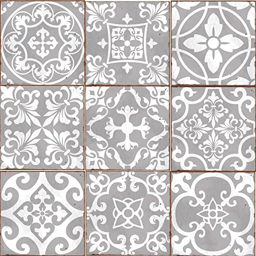 Pleasing Self Adhesive Tiles For Walls Amazon Co Uk Beutiful Home Inspiration Ommitmahrainfo