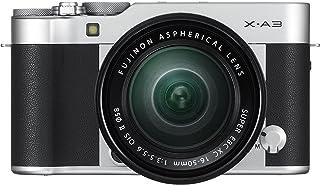 Fujifilm X-A3 Mirrorless Camera XC16-50mm F3.5-5.6 II Lens Kit-Silver