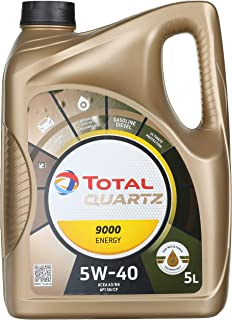 Total Quartz 9000 5W-40 motorolie, 5L 5L
