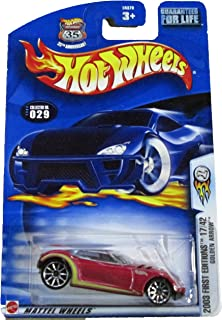Hot Wheels 2003 First Editions 17/42 Golden Arrow