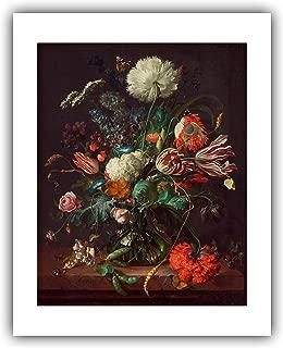 The Ibis Print Gallery - Jan. Davidsz. de Heem : ''Vase of Flowers'' (c.1660) - Giclee Fine Art Print