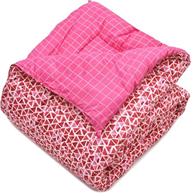 COZY FURNISH Microfiber - AC Comforter/Rajai/Duvet/Special Quilt for All Seasons Microfiber Filled - Reversible Printed Comfo
