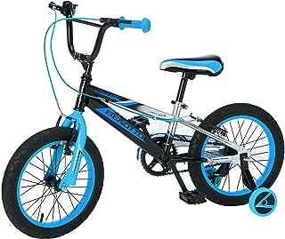 Benotto Bicicleta Agressor Cross Acero R16 1V Niño Frenos V Ruedas Laterales
