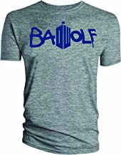 Doctor Who Classic Mens T-Shirt Bad Wolf