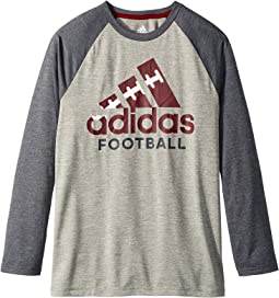 adidas Kids - Logo Skins Tee (Big Kids)