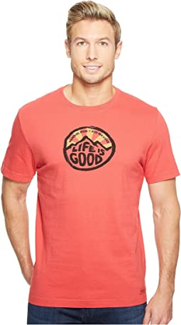 Life is Good - Mountains Speak Crusher Tee
