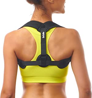 Posture Corrector for Women Men - Posture Brace - Adjustable Back Straightener - Discreet Back Brace for Upper Back Pain Relief - Comfortable Posture Trainer for Spinal Alignment & Posture Support