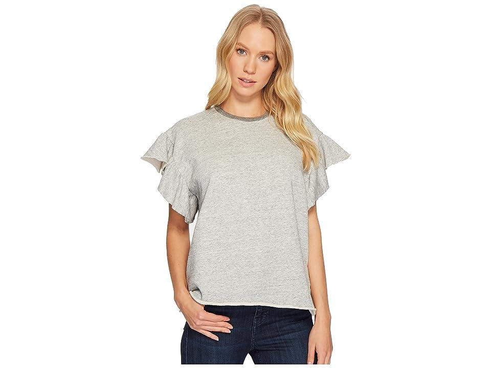 Image of AG Adriano Goldschmied Bes Sweatshirt (Heather Grey) Women's Sweatshirt