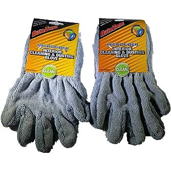 1 par CarPro Microfiber gloves microfibra-guantes para aplicar