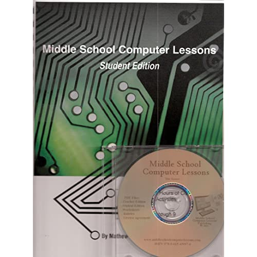 Middle School Computer Lessons Student Edition (Middle School Computer  Lessons Student Edition) 6e23adcd2