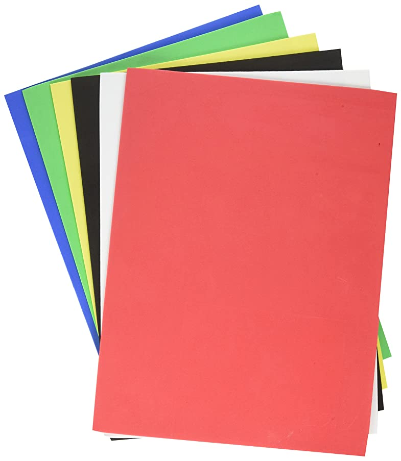 Darice Basic Colors Foamies Sheets