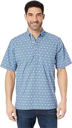 Royal Honu Classic Fit Popover Hawaiian Shirt