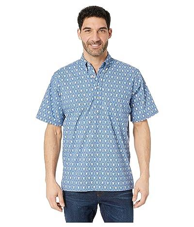 Reyn Spooner Royal Honu Classic Fit Popover Hawaiian Shirt (True Navy) Men