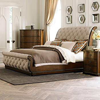 Liberty Furniture Industries Cotswold Sleigh, King, Cinnamon