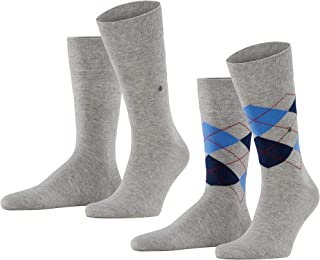 Burlington Men's Everyday Mix 2-Pack M SO Socks (pack of 2)