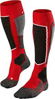 Energizer Men's SK2 M KH Skiing Socks, Red (Lipstick 8000), UK 11-12.5 (EU 46-48 Ι US 12.5-13.5)