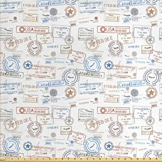Best travel themed fabric Reviews