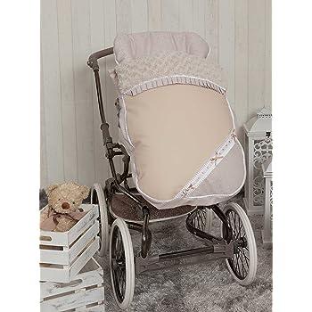 Saco para silla de paseo color beige Babyline Bomb/ón
