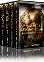 Marine Stepbrother Romance Box Set: A Marine Stepbrother Romance Complete Series: Books (1-4)