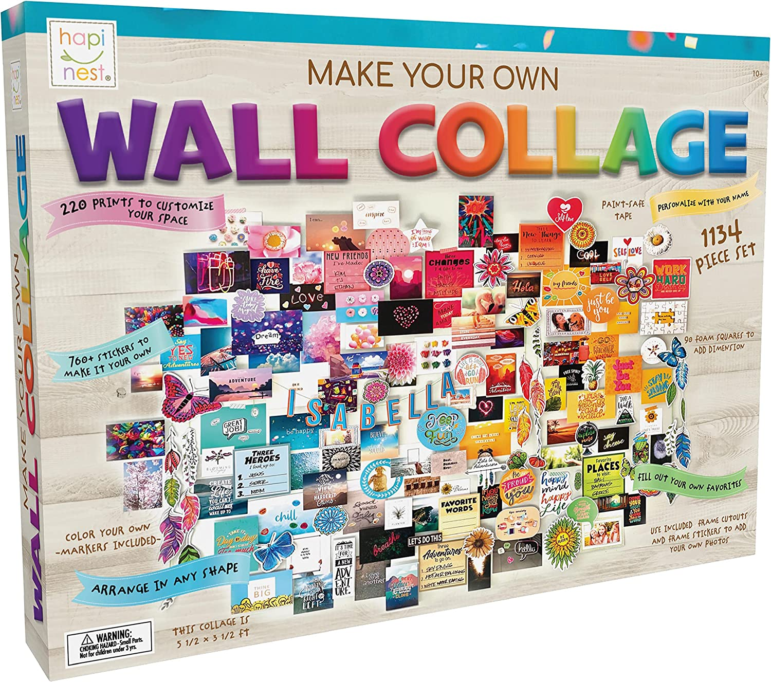 DIY Wall Collage Craft Kit For Tweens And Teens