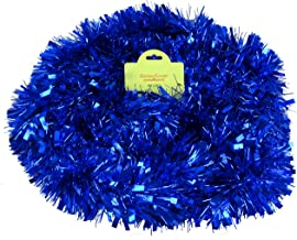 Christmas Concepts® 3m / 9.8ft Chunky/Fine Christmas Tinsel - Christmas Decoration - Tinsel (Blue)