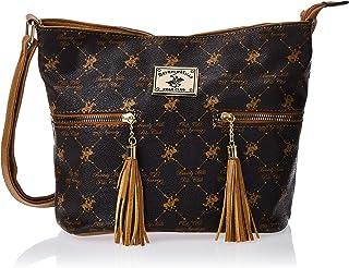 BHPC Womens Crossbody Bag, BROWN - BHVA3704BN