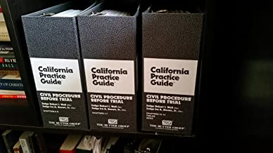 Civil Procedure Before Trial (The Rutter Group California Practice Guide), 2008-2011
