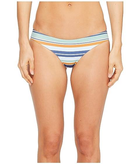 RVCA Stripe Type Cheeky Bikini Bottom blue Bikinis Sortie 2018 m1PLIazd